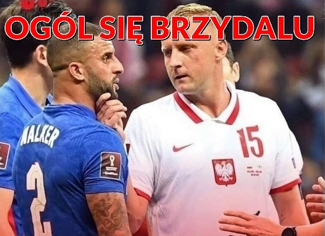 Polska - Anglia Najlepsze memy po meczu w Warszawie, gdzie zremisowalismy 1:1.Zobacz kolejne zdjęcia. Przesuwaj zdjęcia w prawo - naciśnij strzałkę lub przycisk NASTĘPNE