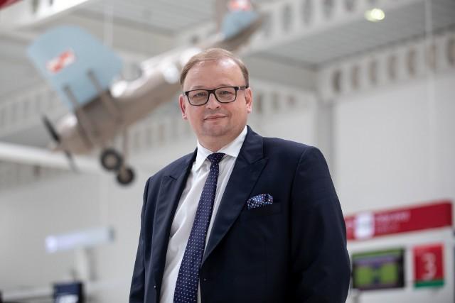 Andrzej Hawryluk, prezes Portu Lotniczego Lublin