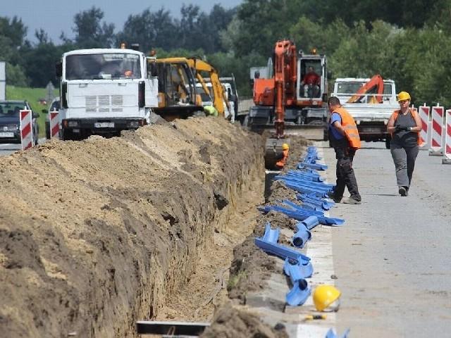 Do 30 sierpnia można spodziewać się utrudnień w ruchu na Wisłostradzie w Tarnobrzegu.