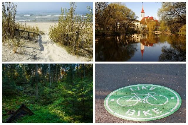Klikając w kolejne zdjęcia zobaczysz najciekawsze miejsca, jakie czekają Cię podczas jazdy rowerem przez Litwę