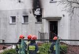 Pożar na gdańskiej Olszynce 19.01.2020. Palił się dom jednopiętrowy przy ul. Olszyńskiej [ZDJĘCIA]