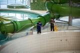 Woda z koszalińskiej pływalni została wypompowana. Aquapark generuje straty ZDJĘCIA