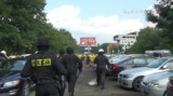 Zadyma przed meczem GKS Katowice-Odra Opole i interwencja policji. Dwie osoby zostały ranne