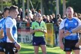 Rugby. Udany debiut Moniki w roli prowadzącej mecz ekstraligi [ZDJĘCIA]