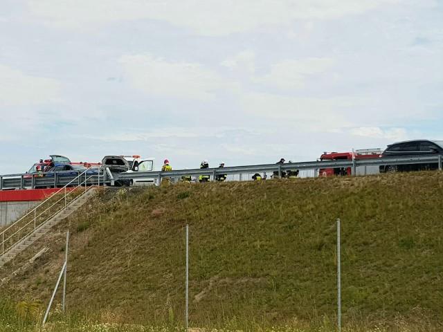 W niedzielne (2 sierpnia) popołudnie w miejscowości Grochowiska Księże doszło do zdarzenia drogowego na drodze S5.
