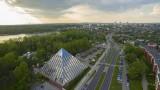 Tychy z lotu ptaka zachwycają. Miasto przeszło metamorfozę i jest w czołówce Polskich Miast Przyszłości. Zobaczcie zdjęcia z drona