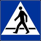Bezpieczne przejścia dla pieszych przy szkole w Tuchomiu
