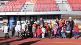 Mumia rywalizowała z piratem i spidermanem. Na stadionie w Inowrocławiu odbył się Bieg Karnawałowy dla Dzieci