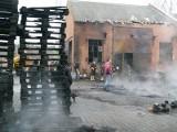 Sieradz: pożar gospodarstwa. Są ranni [ZDJĘCIA]