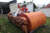 Fred i Wilma Flintstonowie z podopolskiej wsi