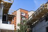Trwa budowa dwóch nowych bloków pomiędzy Avią a os. Dywizjonu 303