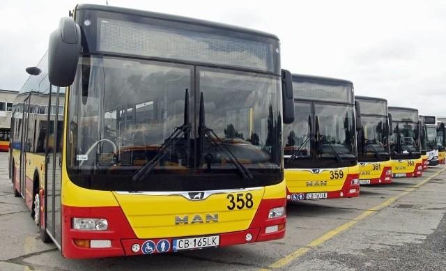 Autobusy MZK będą kursowały od 3 sierpnia - zgodnie z rozkładem jazdy jak w dni robocze na trasie Grudziądz - Radzyń Chełmiński.