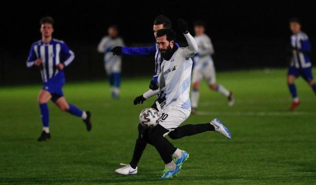 Krystian Pieczara zdobył dwa gole w meczu z Garbarnią