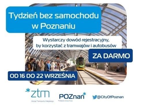 Tydzień bez samochodu w Poznaniu