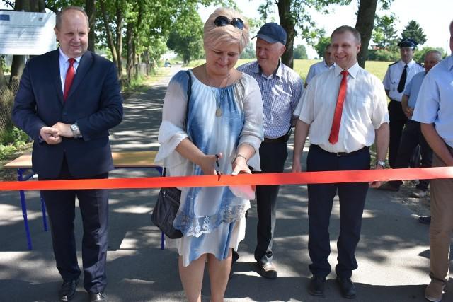 Nowa droga została otwarta na odcinku Kiełpiny-Wąpielsk
