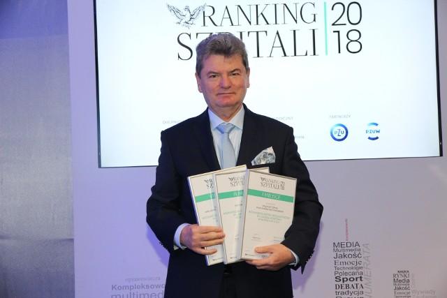 Prezes Andrzej Sapiński w czwartek, 13 grudnia, odebrał na uroczystej gali w Warszawie nagrody na wysoką lokatę w rankingu.