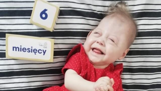 Małą Anastazję czeka długie leczenie i rehabilitacja