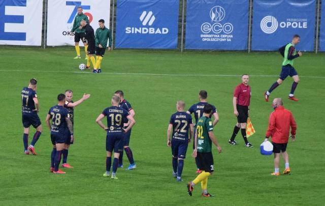 Przedstawiamy jedenastu zawodników, którzy naszym zdaniem znajdą się w wyjściowym składzie Odry Opole na sobotni (13.06) mecz 25. kolejki Fortuna 1 Ligi z Wartą Poznań. Jego początek o godz. 15 na stadionie przy ul. Oleskiej 51.
