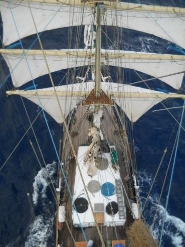 Angelus na krańcu świata: Już tydzień płyniemy przez ocean