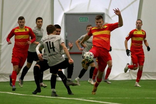 Mecz Centralnej Ligi Juniorów Jagiellonia - Gwarek Zabrze