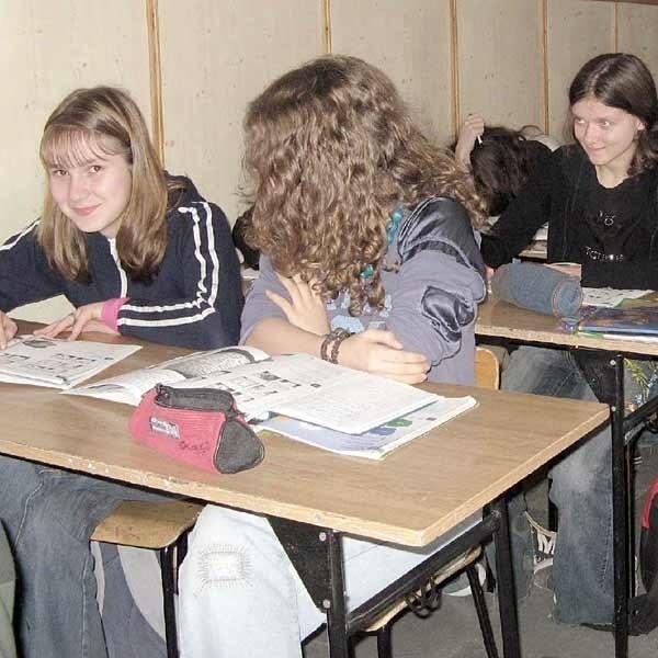 Trzecioklasiści z Gimnazjum nr 3, którzy dziś uczą się w klasach 26-osobowych, nie wyobrażają sobie nauki od września w klasach o 10 osób liczniejszych.