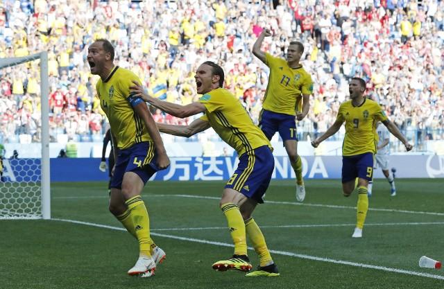 Szwecja - Korea Południowa 1:0