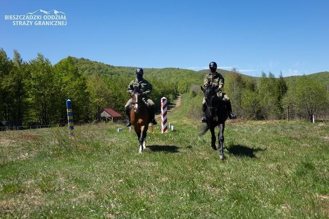 Bieszczady to jedynie miejsce w Polsce, w którym konie pomagają straży granicznej w patrolowaniu granicy państwowej.