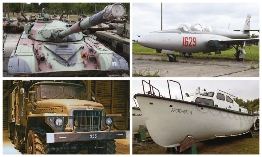Wojsko wyprzedaje czołgi, wozy pancerne, łodzie i samoloty. Jesteś zainteresowany? Zobacz!