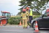 Śmiertelny wypadek z udziałem motocykla w powiecie świeckim. Nie żyje 27-letni mężczyzna. Zobacz zdjęcia