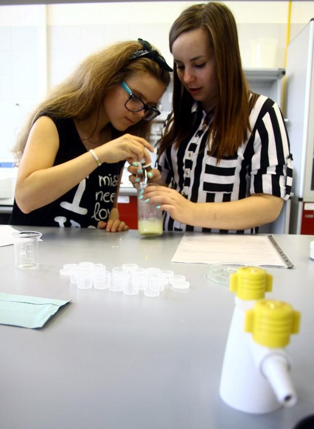 W Instytucie Biotechnologii KUL można było sobie zrobić krem