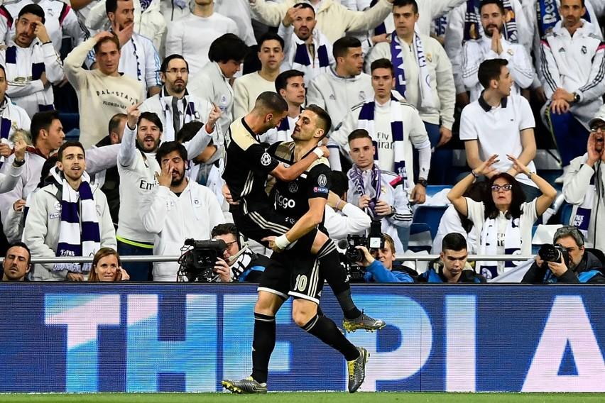 Real - Ajax 1:4. Sensacja w Madrycie. Wszystkie bramki,...