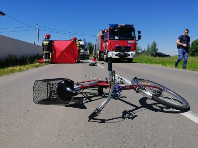 Śmiertelny wypadek na ul. Litewskiej w Tarnobrzegu. Nie żyje rowerzystka.