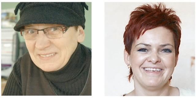 Od lewej: Elżbieta Gładkowska, Elżbieta Gładkowska