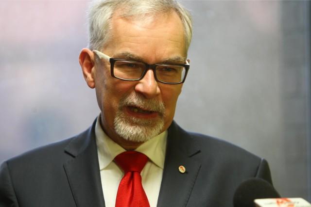 """Porozumienie na lewicy może oznaczać, że """"jedynkę"""" dostanie Waldemar Witkowski, radny sejmiku i lider Unii Pracy"""