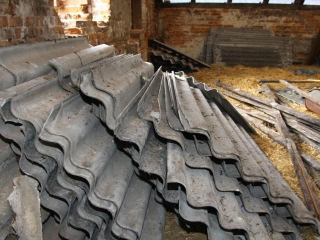 Płyty azbestowe