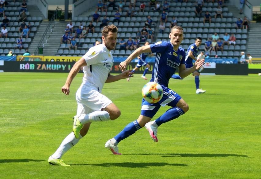 Warta Poznań dopiero po raz piąty zremisowała w tym sezonie Fortuna 1. Ligi. Zobacz zdjęcia z meczu ------>