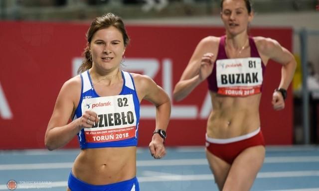 Katarzyna Ździebło była bezkonkurencyjna w chodzie kobiet
