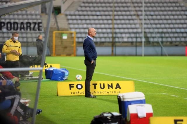 Dominik Nowak, trener Miedzi