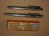 Nielegalna broń w bydgoskim Fordonie. Pistolety jak z filmu o Jamesie Bondzie