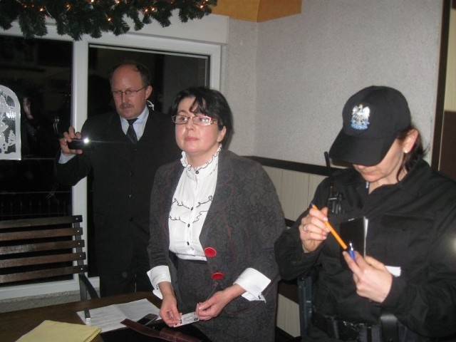 Izabela Kumor-Pilarczyk wezwała policję prosząc o interwencję