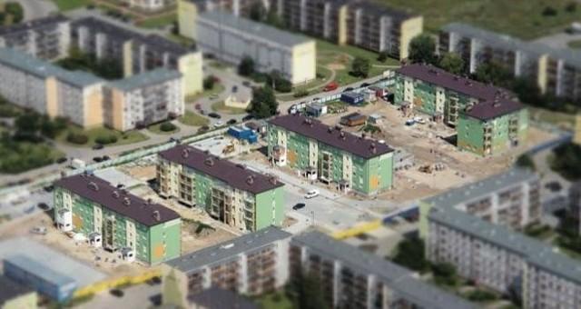Miniosiedle bloków ADMMiniosiedle bloków ADM w Nowym Fordonie w Bydgoszczy.