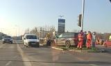 Poznań: Wypadek na skrzyżowaniu księcia Mieszka I i Szymanowskiego. Zderzyły się dwa samochody