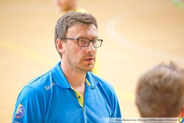 Rafał Bernacki, jeden z dwóch trenerów SMS ZPRP Kielce