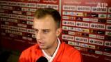 Kamil Grosicki: Ciężko zapracowaliśmy na wygranie grupy [WIDEO]