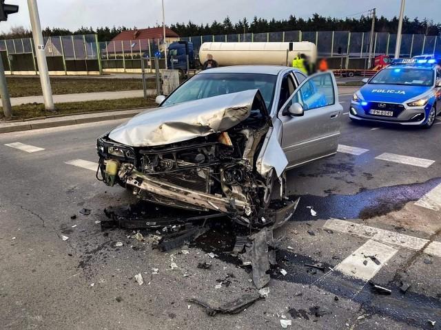 Wypadek na ulicy