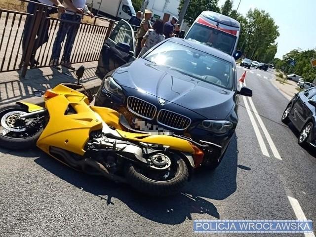 Wypadek na Kwidzyńskiej