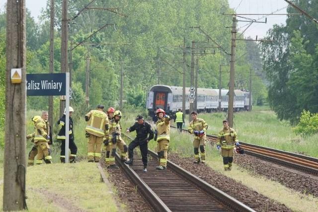 Tragedia na torach w Kaliszu. W piątek, 28 maja na przystanku kolejowym w Winiarach mężczyzna został śmiertelnie potrącony przez pociąg. Przejdź do kolejnego zdjęcia --->