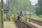 Śmiertelny wypadek na torach w Kaliszu. Nie żyje mężczyzna potrącony przez pociąg
