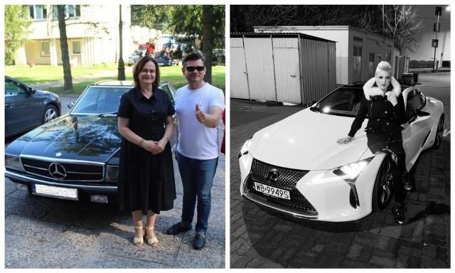 Zenek Martyniuk i Magda Narożna pokazali swoje wypasione auta. Jakie marki wybrały gwiazdy disco polo?