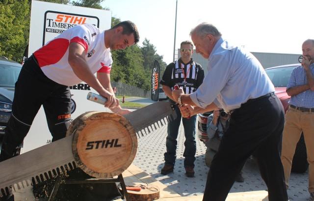 Poznań gospodarzem mistrzostw świata w cięciu i rąbaniu drewna